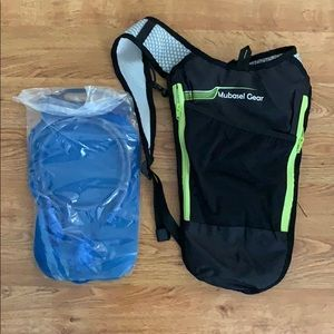2 NEW/UNUSED Mubasel Hydration Backpack Packs